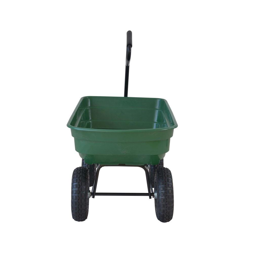 Chariot De Jardin À Benne Basculante destiné Chariot De Jardin 4 Roues