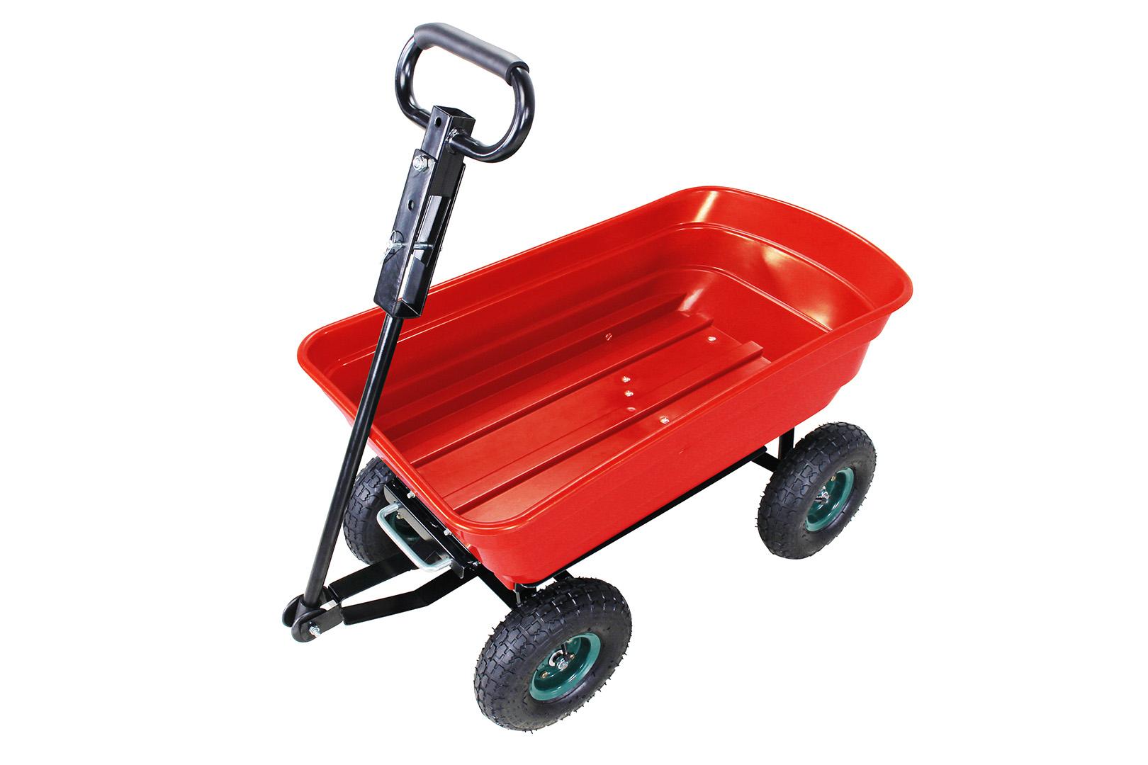 Chariot De Jardin Contenance 75 Litres - Charge De 300 Kg ... pour Chariot De Jardin 4 Roues