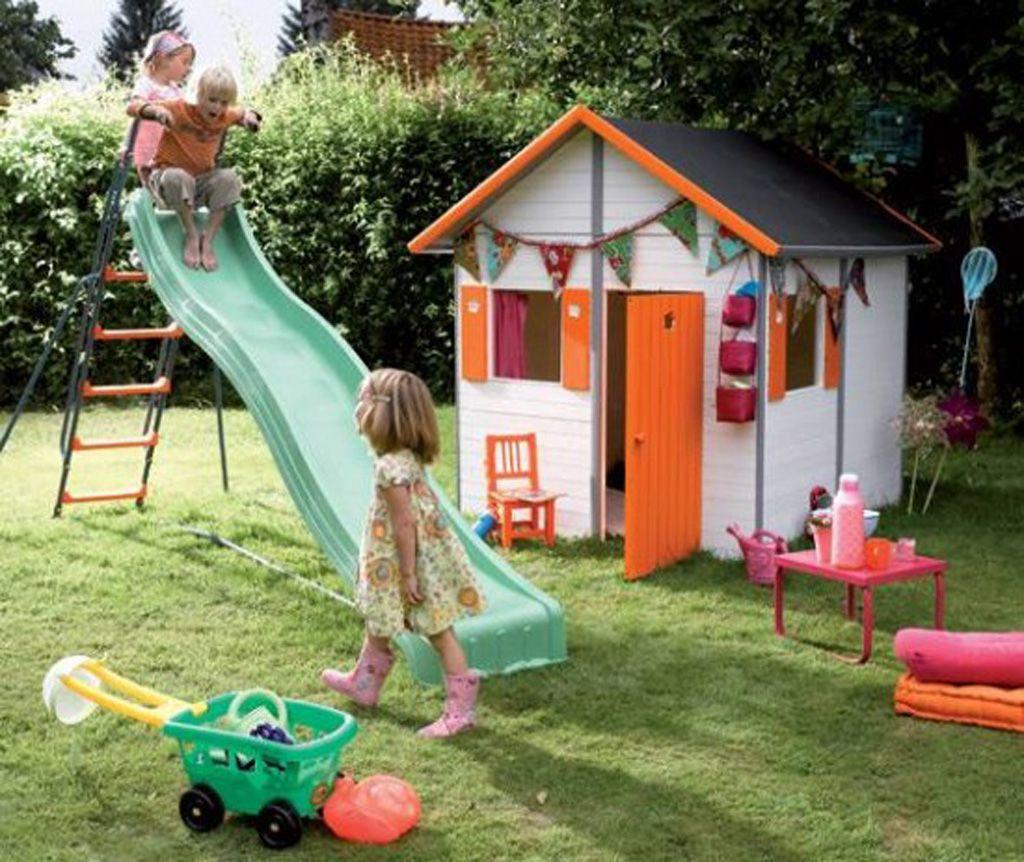 Cheerful Kids House Toys | Jardin Pour Enfants, Cabane ... serapportantà Cabane De Jardin Pour Enfants