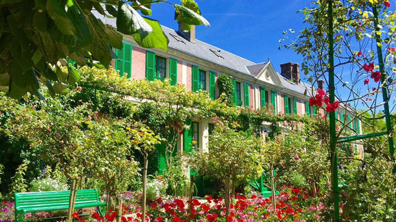 Claude Monet'nin Giverny'deki Evi - Pariste destiné Salon De Jardin But