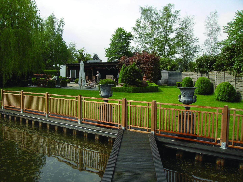 Clôture Bois Exotique encequiconcerne Barrière Bois Jardin
