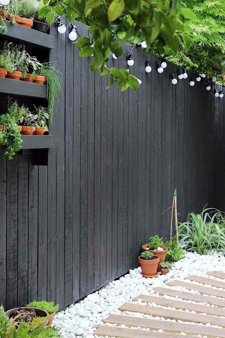Clôture De Jardin : Idées Déco Et Diy   Separation Jardin ... dedans Clotures De Jardin
