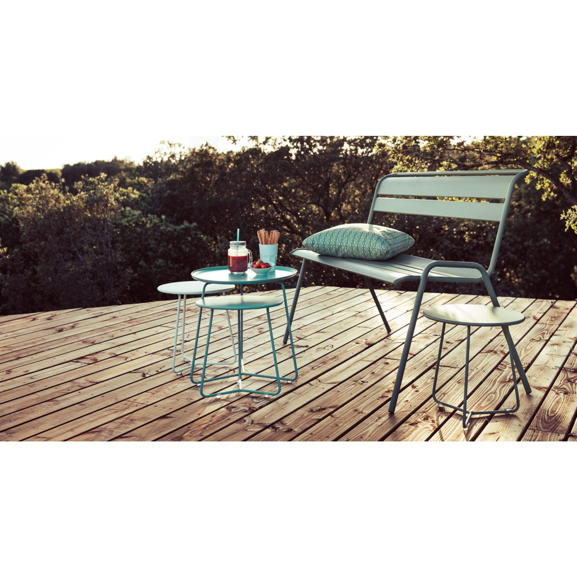 Cocotte Low Table | Coffee Tables | Accessories | Fermob ... dedans Salon De Jardin Discount