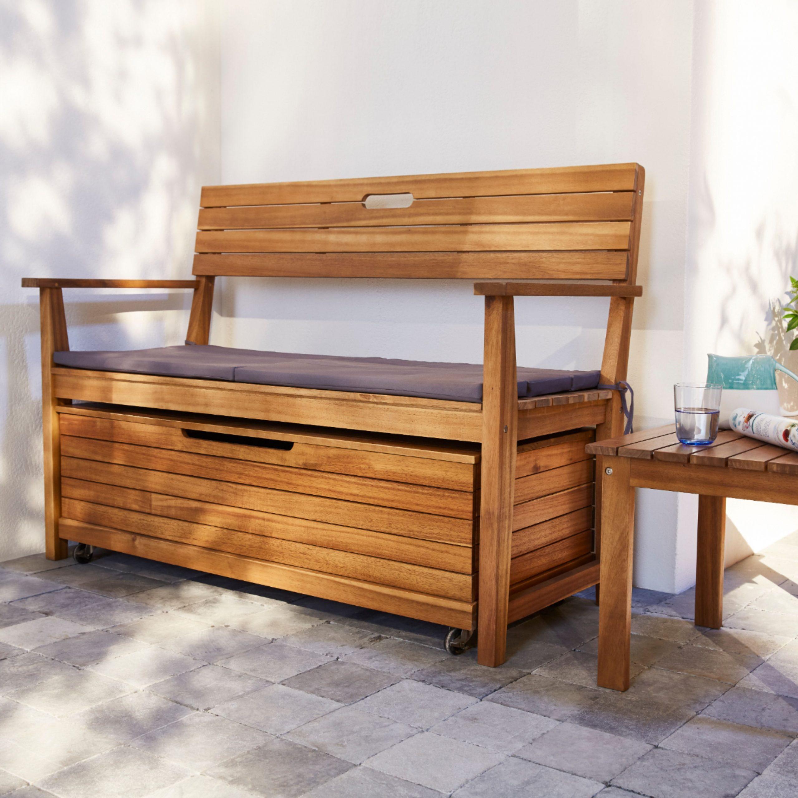 Coffre De Jardin Denia | Coffre De Jardin, Décoration Maison ... à Coffre De Jardin Castorama