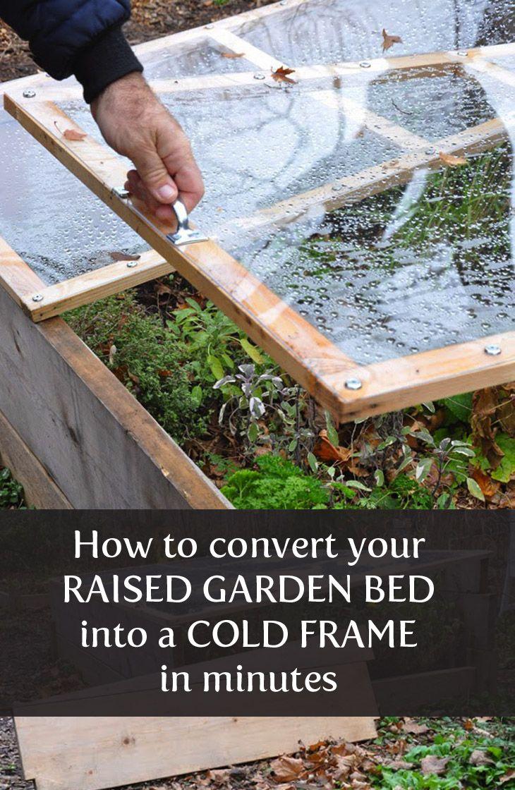 Cold Frame How-To | Froid | Jardins, Jardin Potager Et Jardinage concernant Chassis Jardin