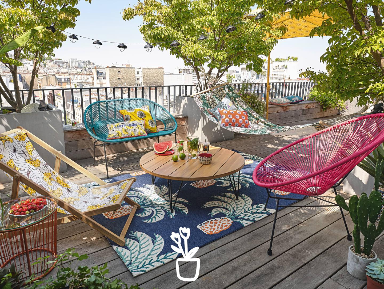 Collection Jardin 2020 | Maisons Du Monde à Salon De Jardin Table Haute