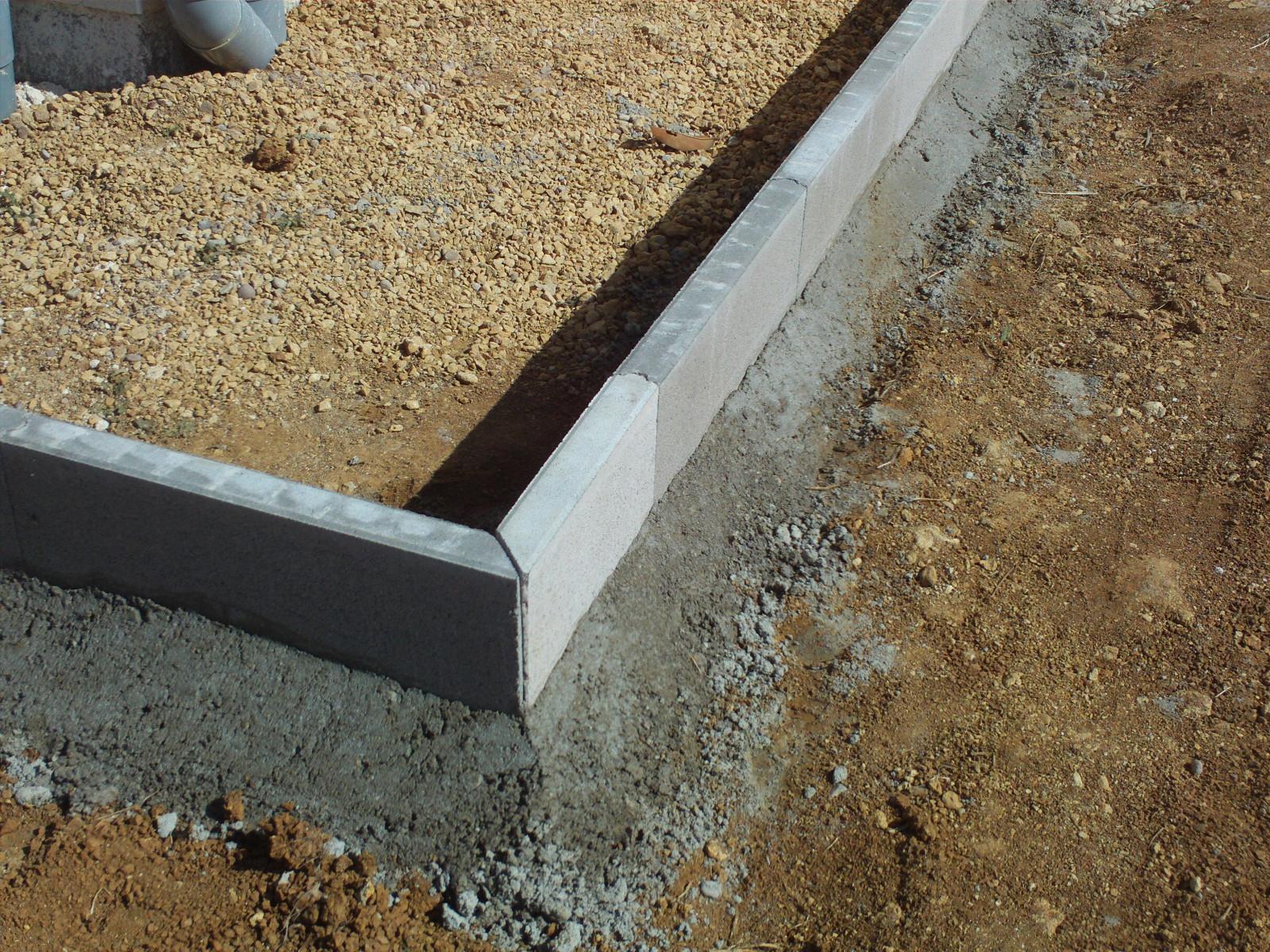 Comment Couper Des Angles Bordure En Beton - 12 Messages avec Bordure De Jardin Beton