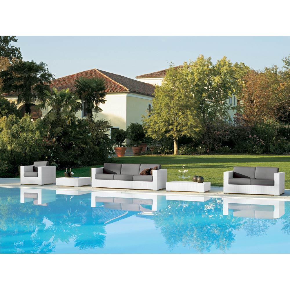 Composition Meubles Salon De Jardin Style Moderne Varaschin Cora à Salon De Jardin Cora