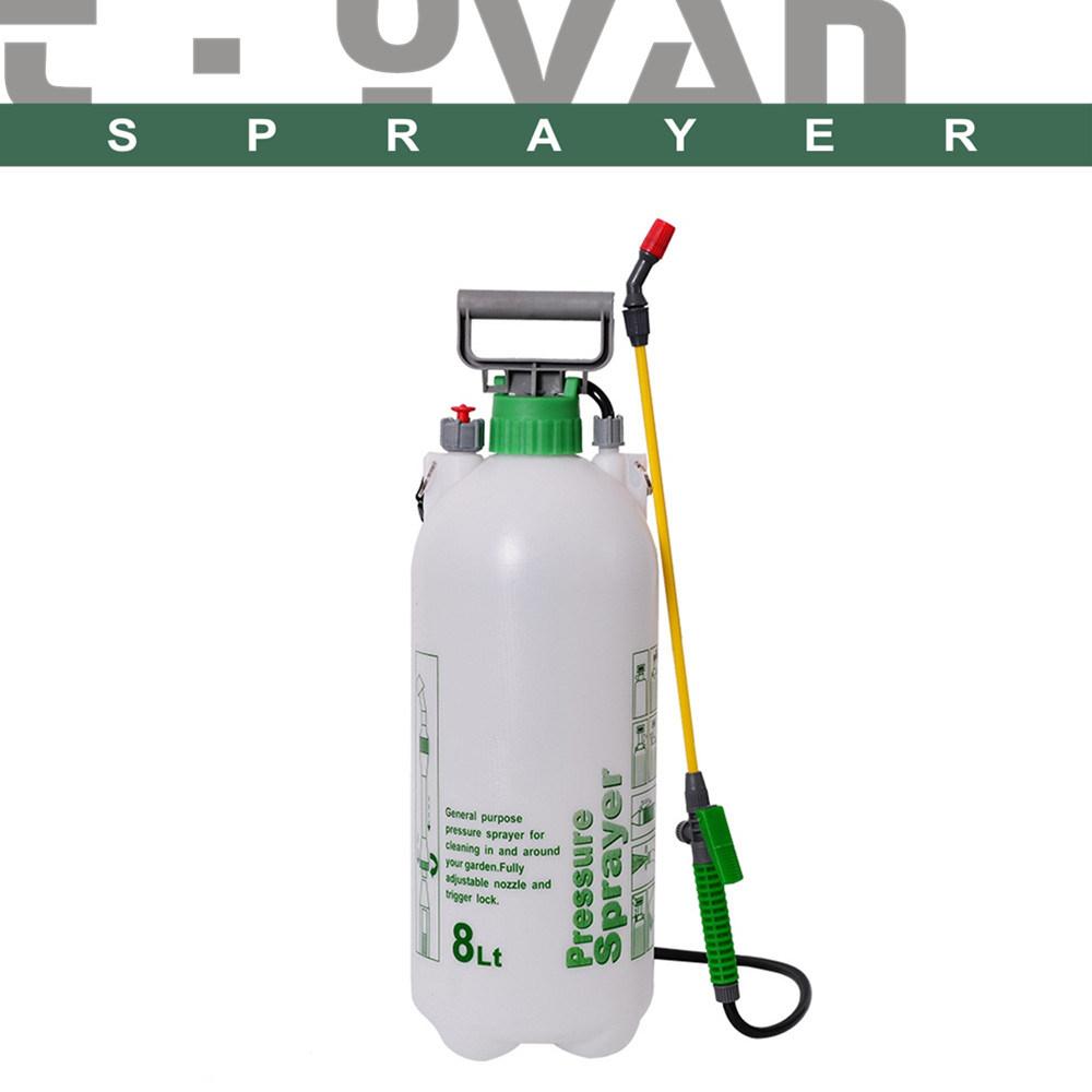 Compression De La Main En Plastique 8L'eau Du Réservoir En ... pour Pulverisateur Jardin