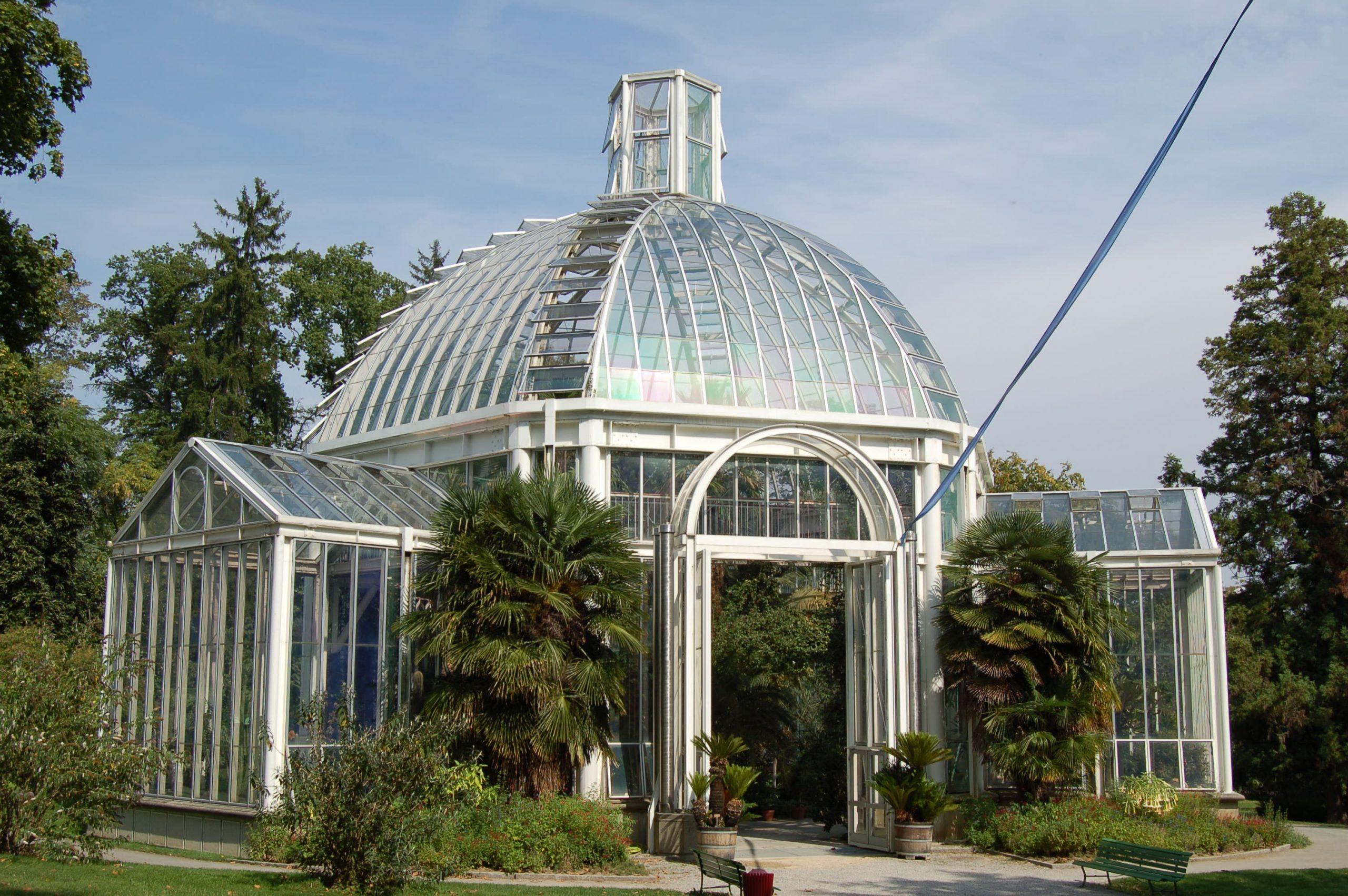 Conservatoire Et Jardin Botaniques De La Ville De Genève ... dedans Serre De Jardin D Occasion