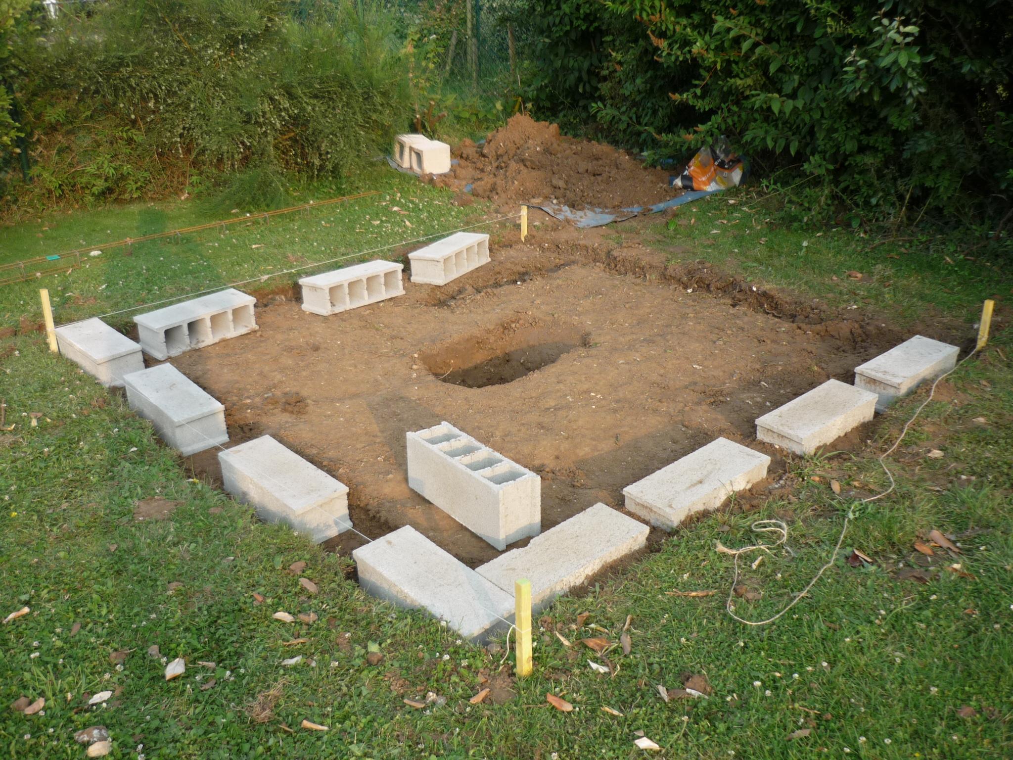 Construction De L'observatoire (Partie 2) | Le Blog De Ngc_7000 encequiconcerne Fondation Abri De Jardin