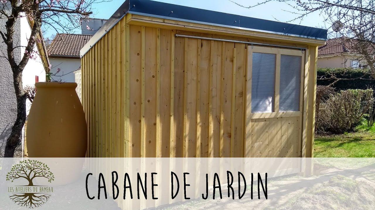 Construction D'une Cabane De Jardin dedans Fabriquer Un Abri De Jardin