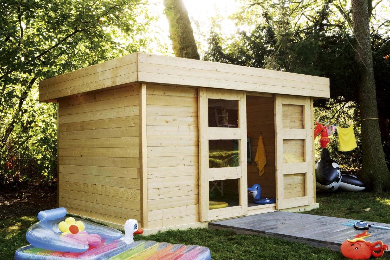 Construire Son Abri De Jardin - Elle Décoration intérieur Fabriquer Un Abri De Jardin