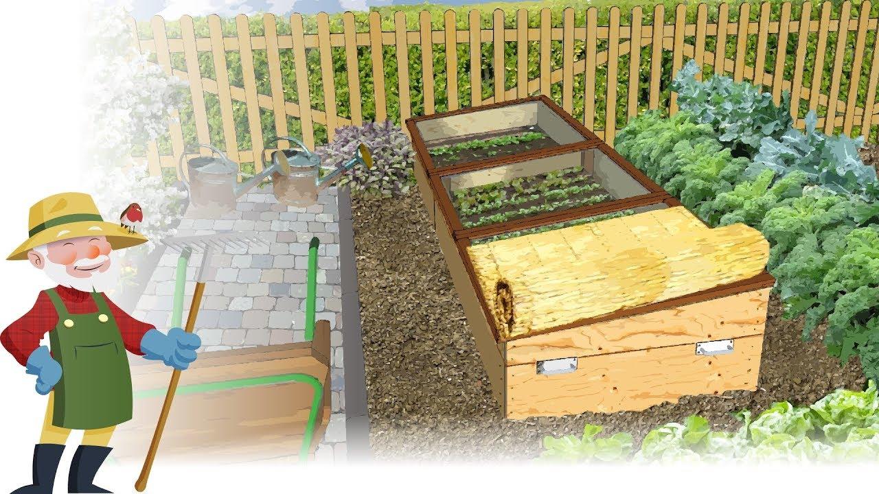 Construisez Vous-Même Un Châssis De Jardin — (Châssis Nantais) tout Chassis De Jardin