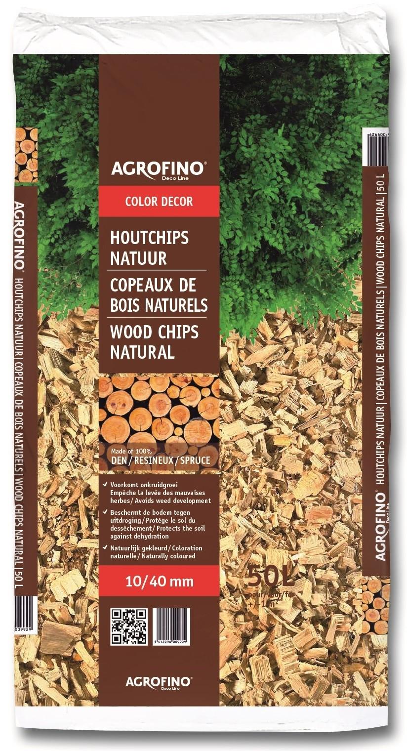 Copeaux De Bois Naturels 50 L Agrofino - Mr.bricolage à Copeaux De Bois Jardin