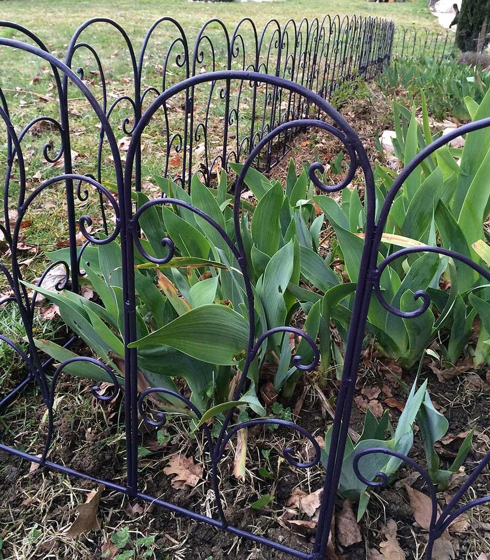 De Très Jolies Bordures En Fer Forgé Pour Votre Jardin tout Bordure Jardin Metal