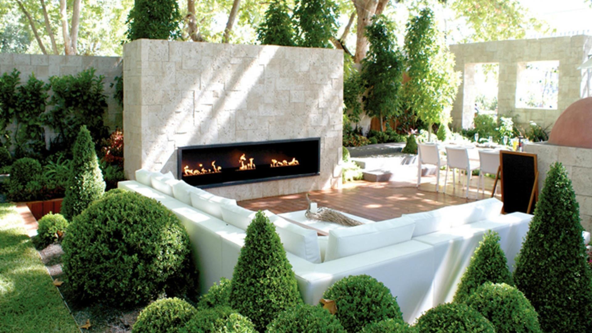 Deco Jardin Moderne Des Idées - Idees Conception Jardin concernant Chaux Jardin