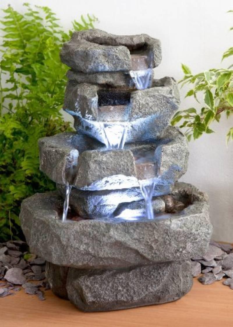 Décoration D'extérieur Fontaines Fontaine Jardin Zen ... concernant Déco De Jardin Zen