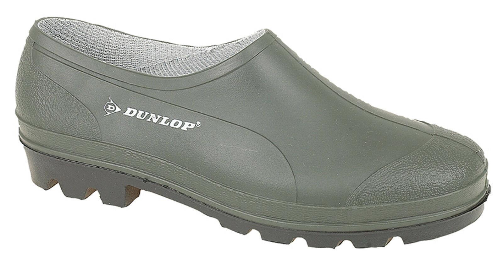 Détails Sur Dunlop Jardin Chaussures Unie Étanche Vert Jardinage Wellie  Sabots Tailles 3 tout Sabot De Jardin