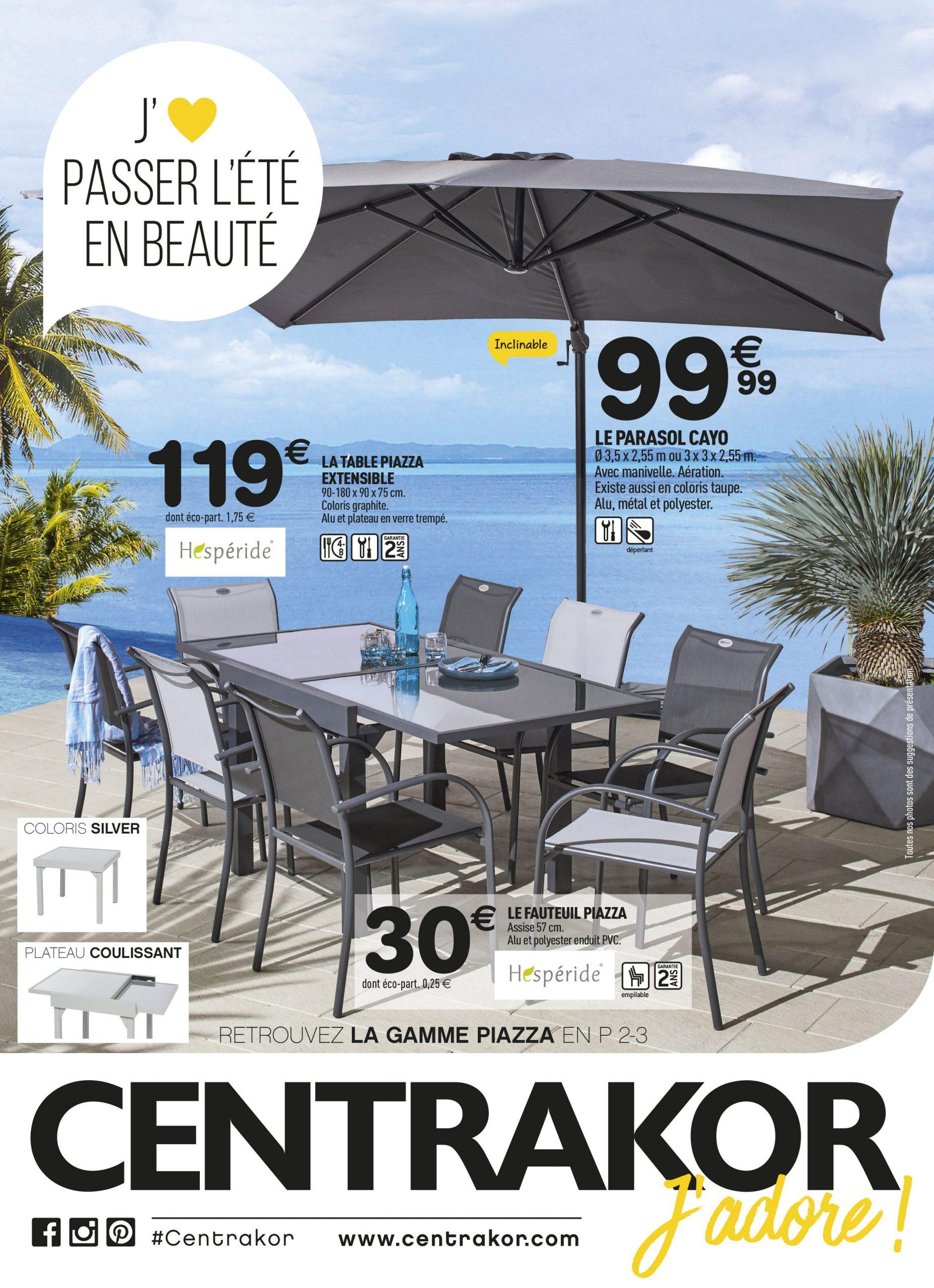 Direction Le Jardin Et La Terrasse ! | Centrakor Vannes ... encequiconcerne Table De Jardin Centrakor