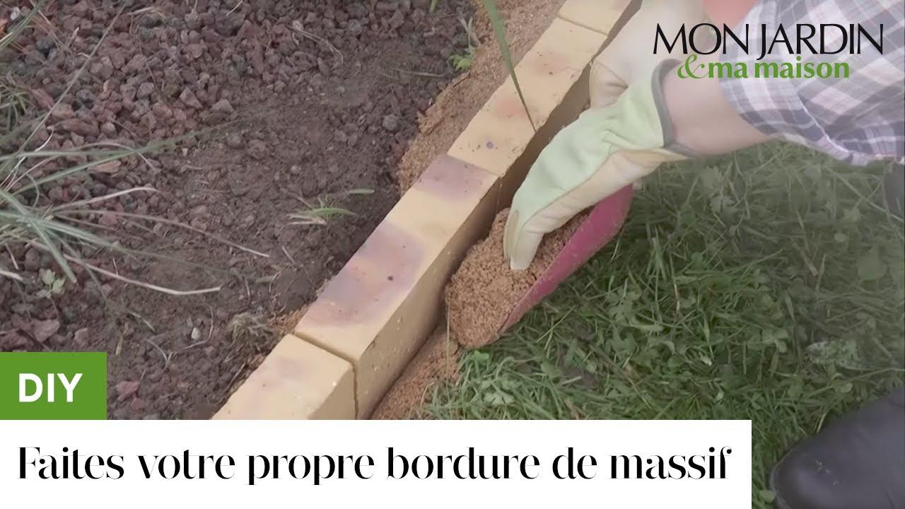 Diy : Faites Votre Propre Bordure De Massif dedans Bordure De Jardin En Pierre