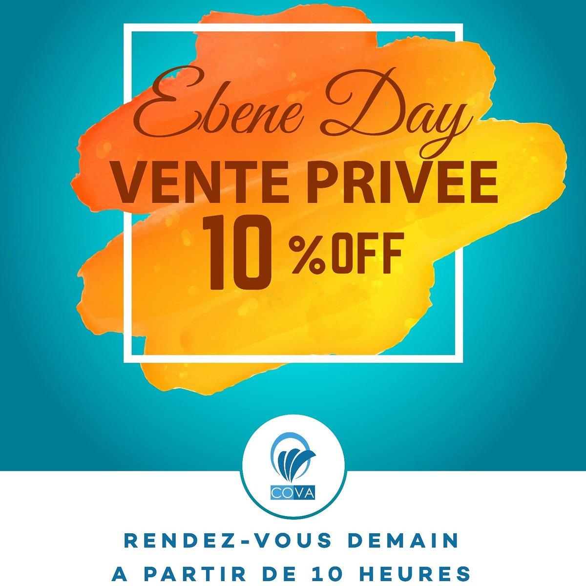 """Doumo On Twitter: """"la Vente Privée Ebene Day, Organisé Par ... à Vente Privée Jardin"""