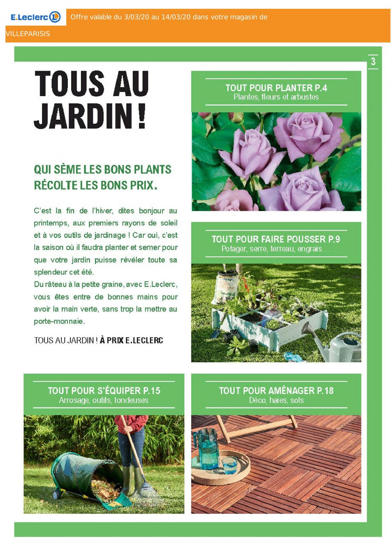 E.leclerc Solde Du 03/03/2020 | Kupino.fr serapportantà Tondeuse Leclerc Jardin