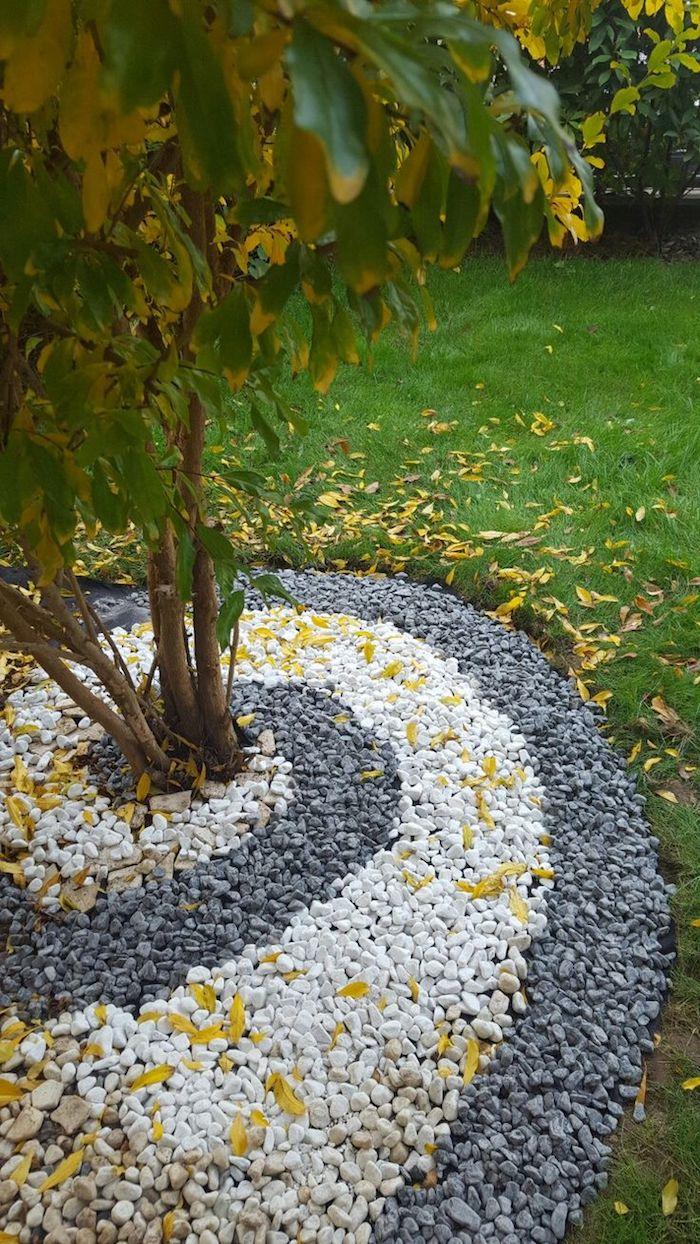 ▷ 1001 + Modèles De Parterre De Fleurs Avec Galets dedans Jardin Avec Galets Blancs