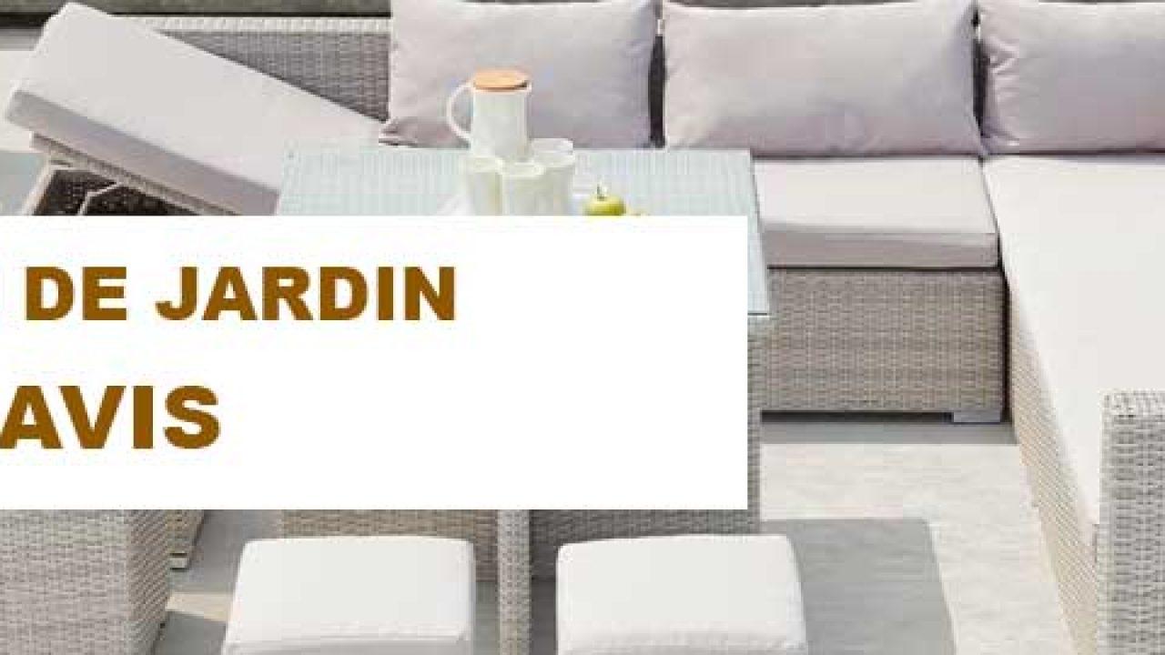✪ Quel Est Le Meilleur Salon De Jardin ? Notre Comparatif ... concernant Amazon Salon De Jardin En Resine Tressee