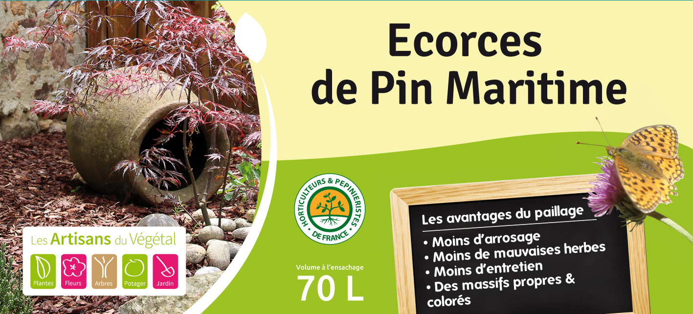 Ecorce De Pin Maritime intérieur Ecorces Jardin