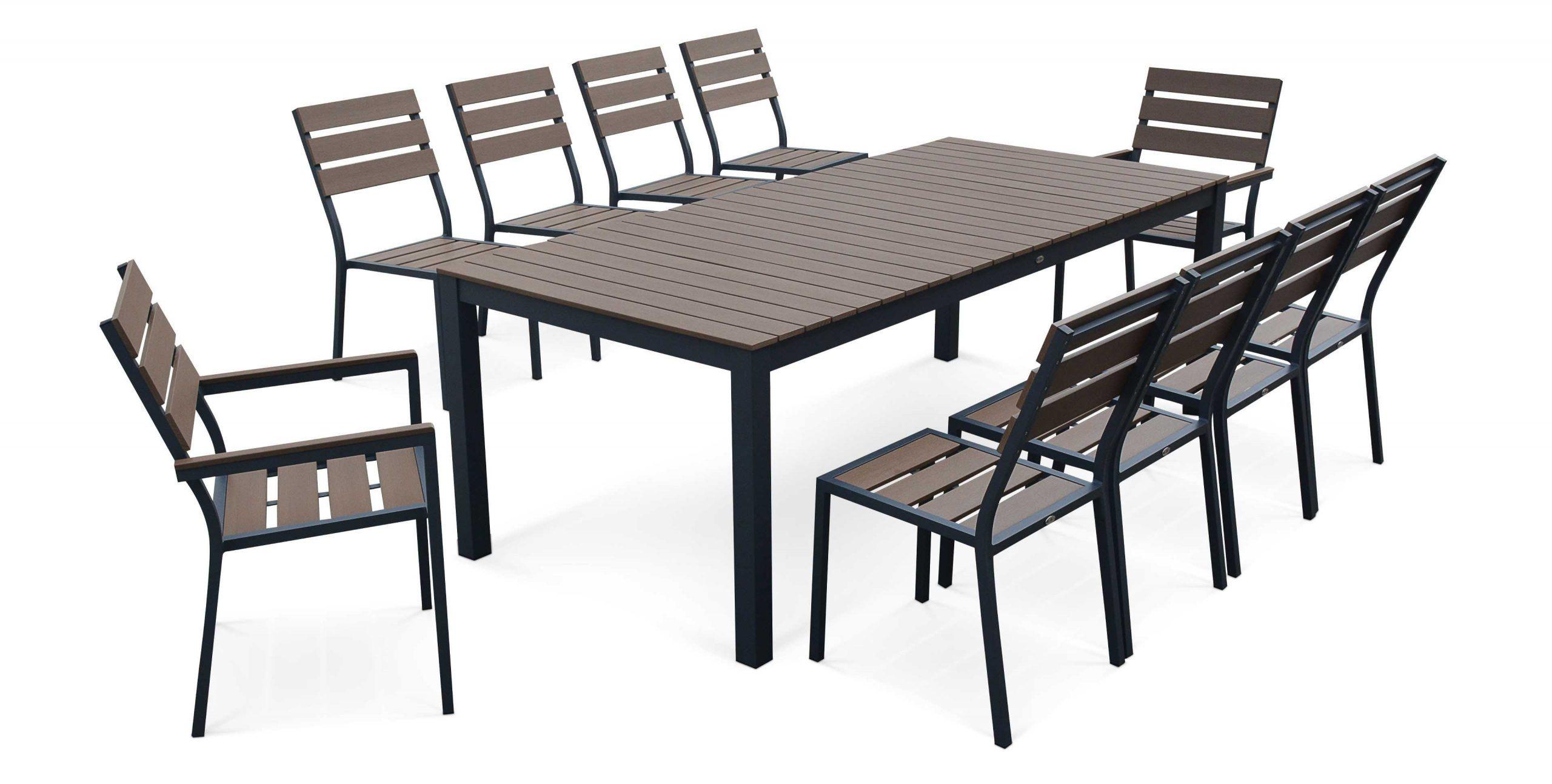 Enchanteur Table De Jardin 10 Personnes Avec Salon Table De ... intérieur Table Jardin 10 Personnes