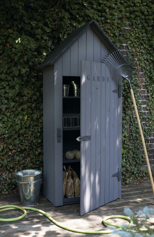 Épinglé Sur Mini Garden Sheds dedans Armoire Jardin Leroy Merlin