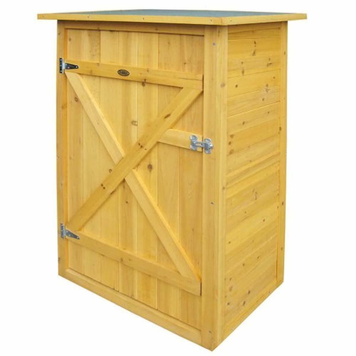 Étagères Atelier Bois Pin Coffre Plat Abris Massi 2 Armoire ... destiné Armoire De Jardin Ikea