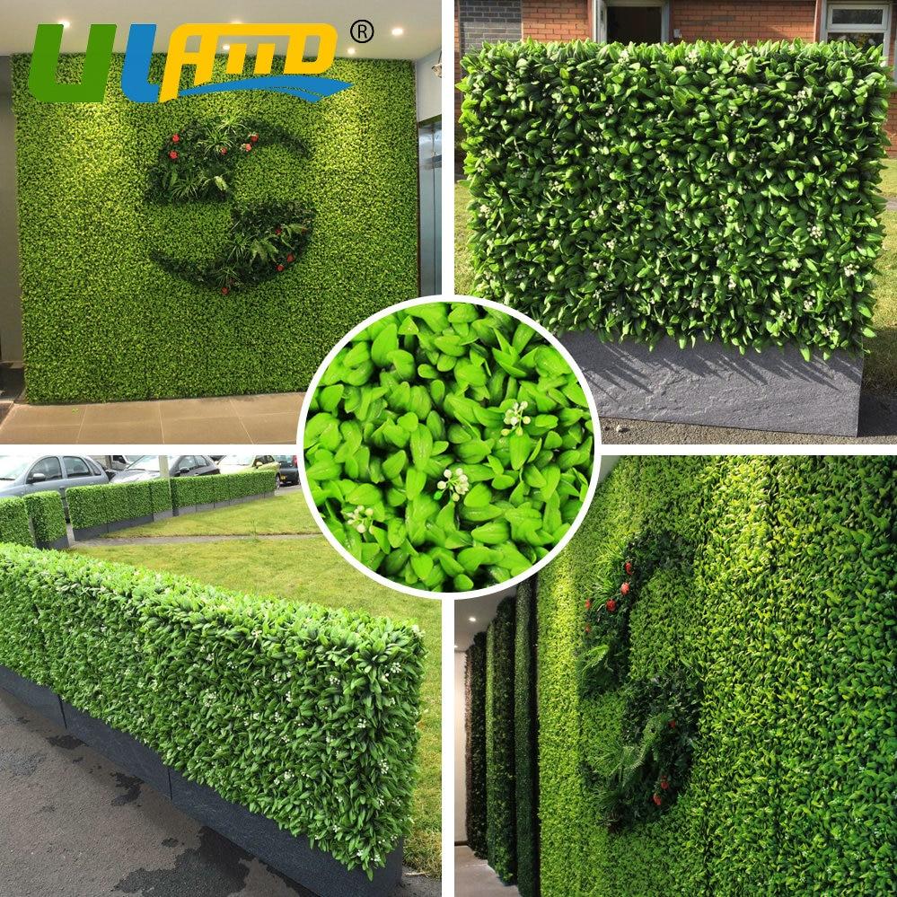 Ev Ve Bahçe'ten Bahçe Yapıları'de Uland Yapay Duvar Çim ... concernant Boule Décorative Jardin