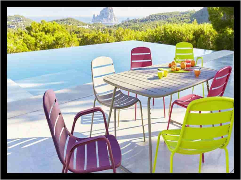 Fauteuil Carrefour Charmant Ensemble Table Et Chaise ... dedans Transat Jardin Carrefour