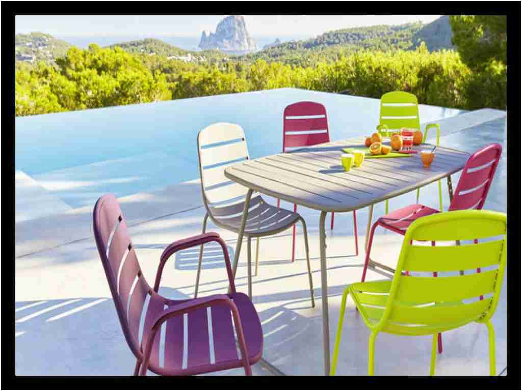 Fauteuil Carrefour Charmant Ensemble Table Et Chaise ... encequiconcerne Salon De Jardin Resine Carrefour