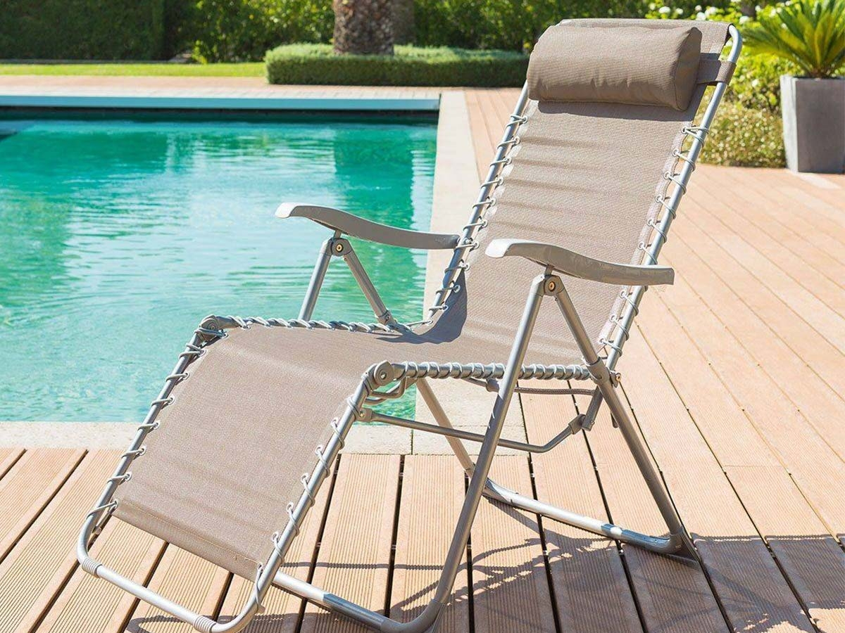 Fauteuil De Jardin Relax Silos Couleur Au Choix | Hespéride dedans Chaise De Jardin Hesperide