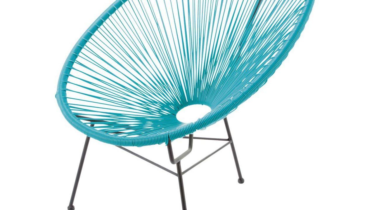 Fauteuil Oeuf Corde Ou Design Retro Cordage pour Fauteuil Oeuf Jardin