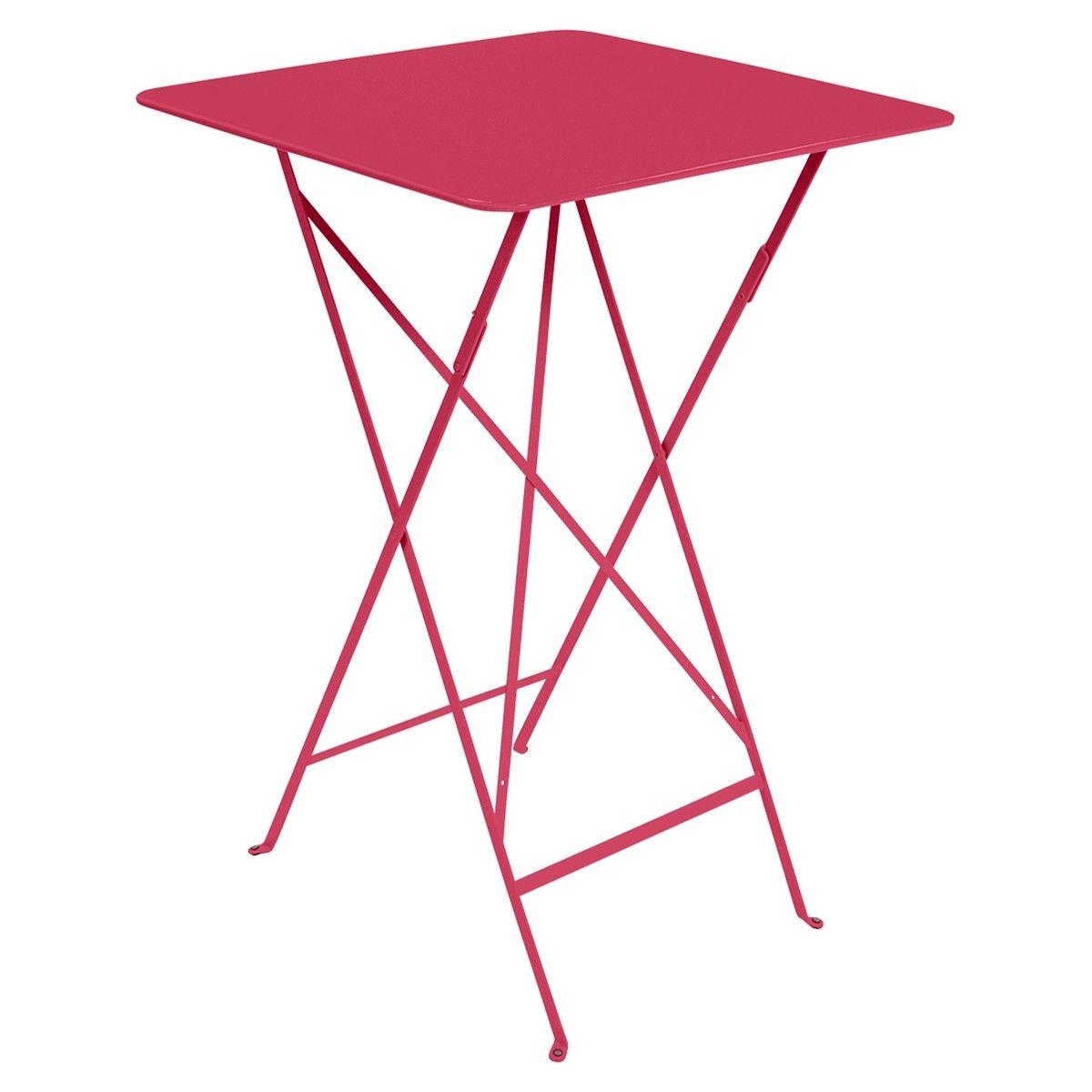 Fermob Bistro High Table 71 X 71Cm | Outdoor Furniture ... intérieur Pralin Jardin