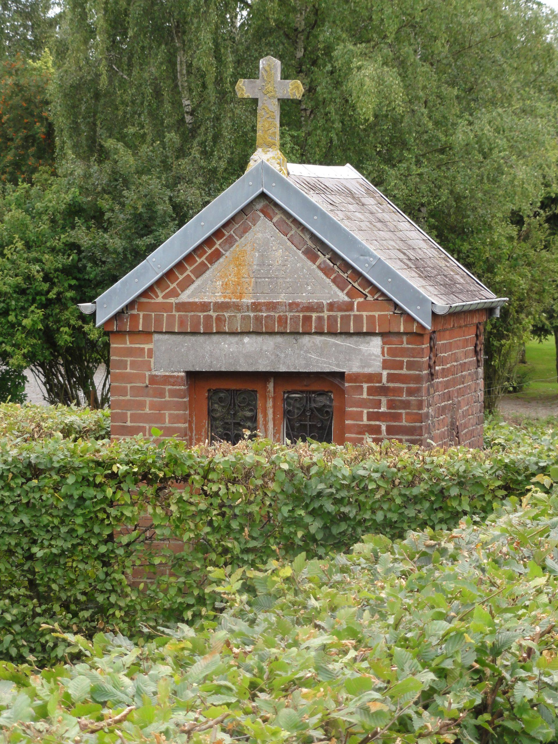 File:dimechaux (Nord, Fr) Chapelle Entre Jardinets Du Bourg ... serapportantà Chaux Jardin