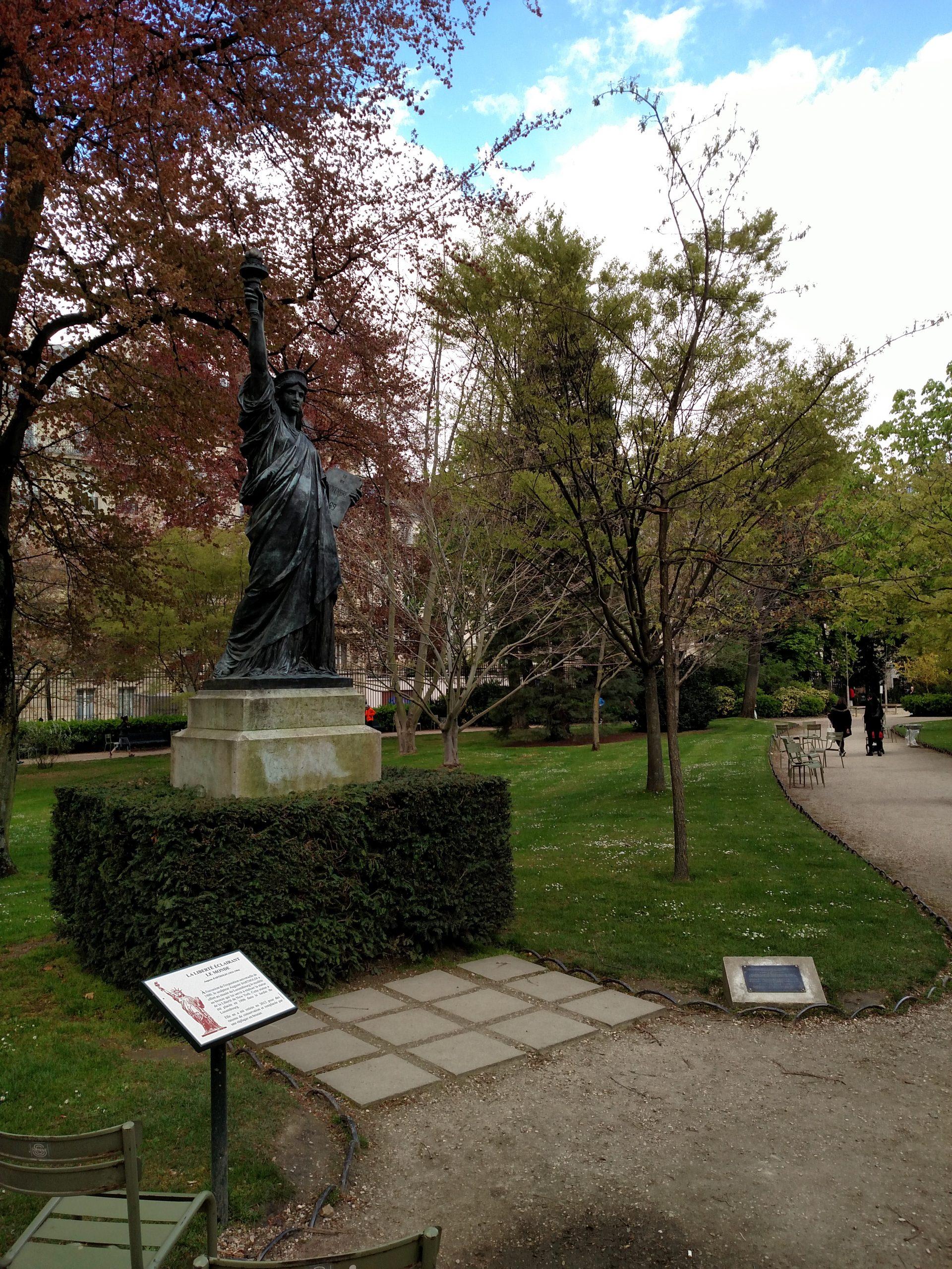 File:liberty Enlightening The World, Jardin Du Luxembourg ... à Statues De Jardin Occasion