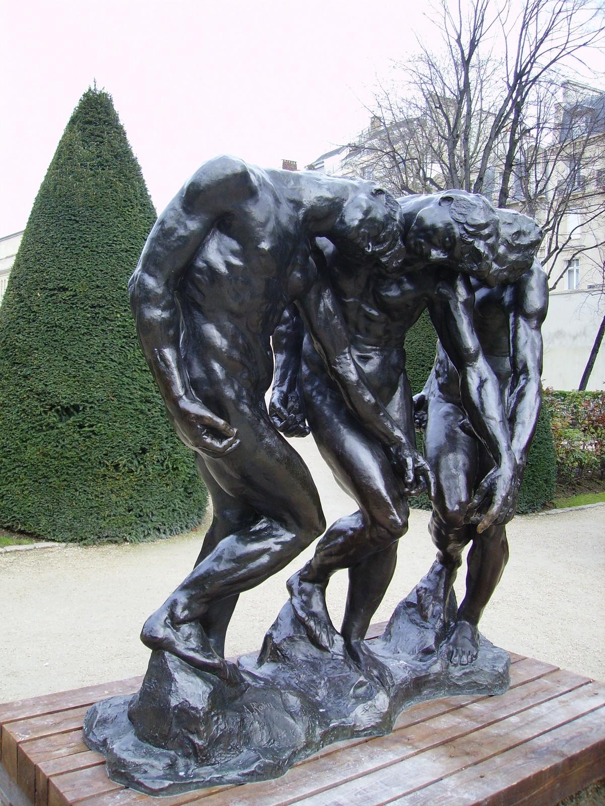 Flâner Dans Les Jardins... Au Musée Rodin - Cartridge World ... intérieur Statues De Jardin Occasion