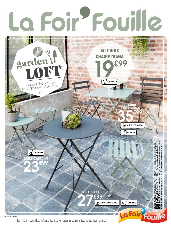 Garden Loft By La Foir'fouille - Issuu à Foir Fouille Salon De Jardin