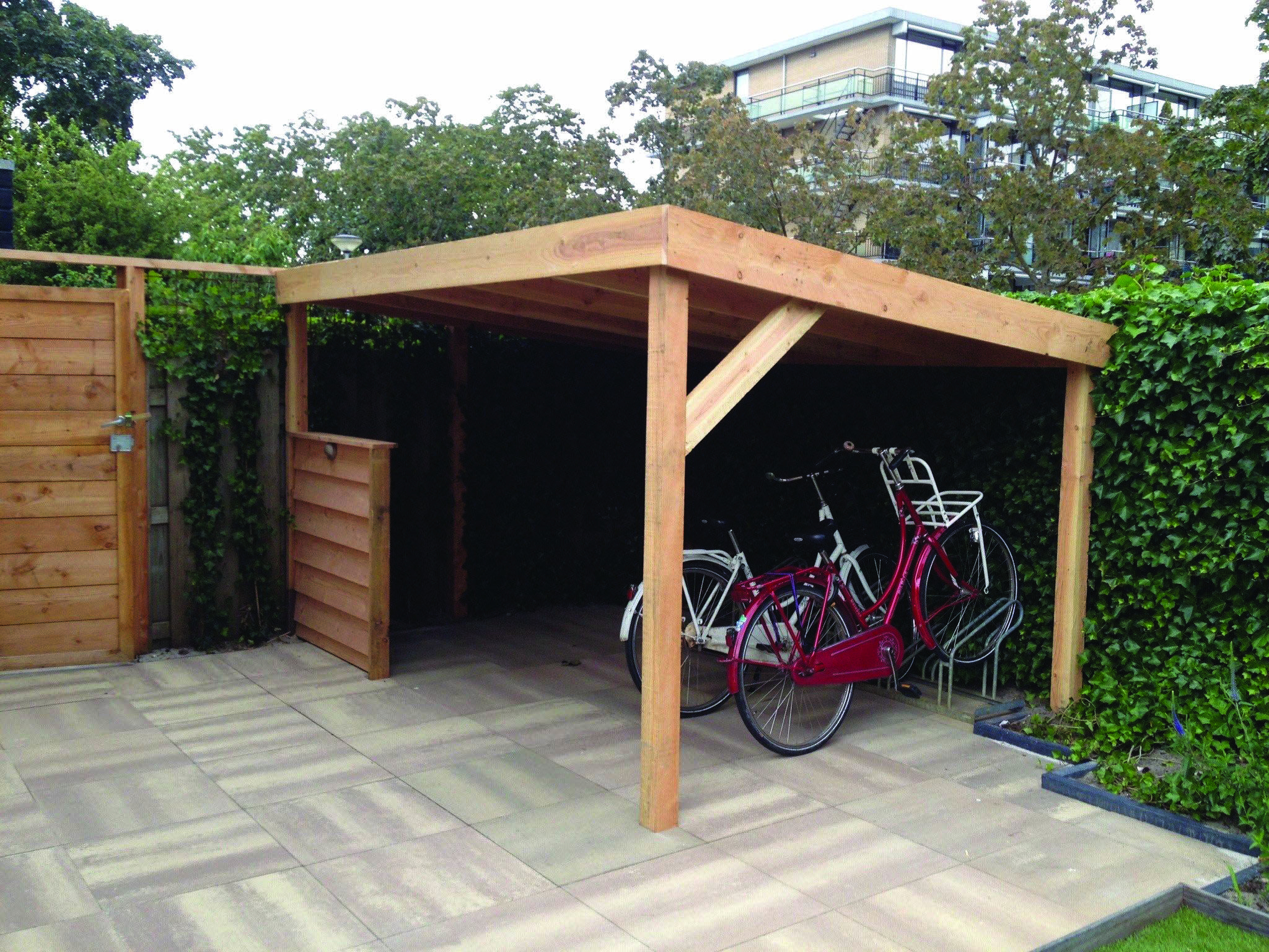 Get These Top Trending How To Build Outdoor Bike Storage To ... destiné Abri Moto Jardin