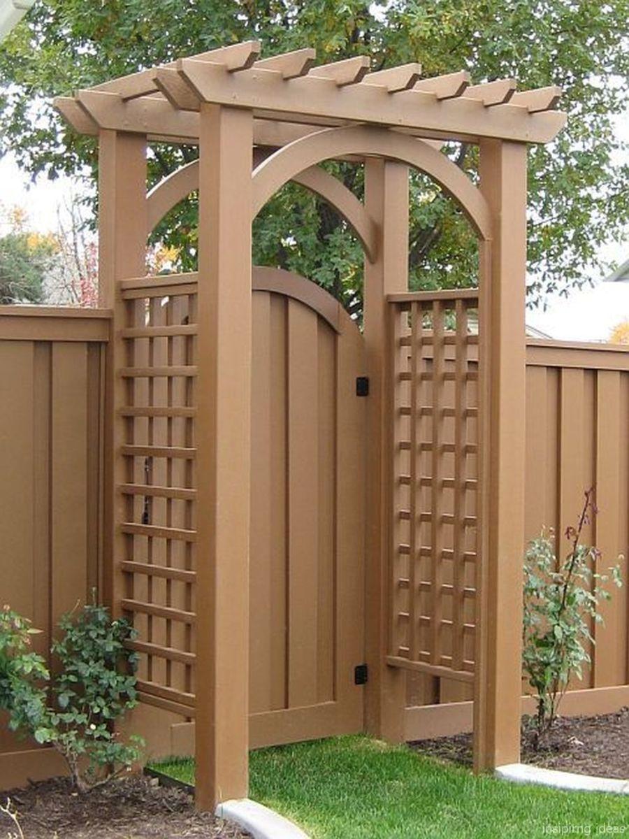 Gorgeous Pergola Ideas For Backyard 113 | Biban En 2019 ... dedans Tonelle De Jardin