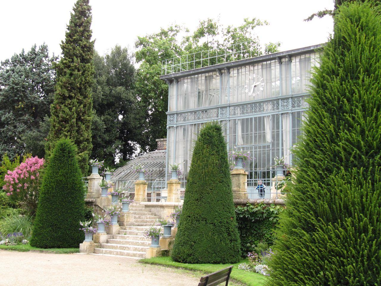 Grande Serre Du Jardin Des Plantes | Plante Jardin, Jardins ... intérieur Serre De Jardin Amazon