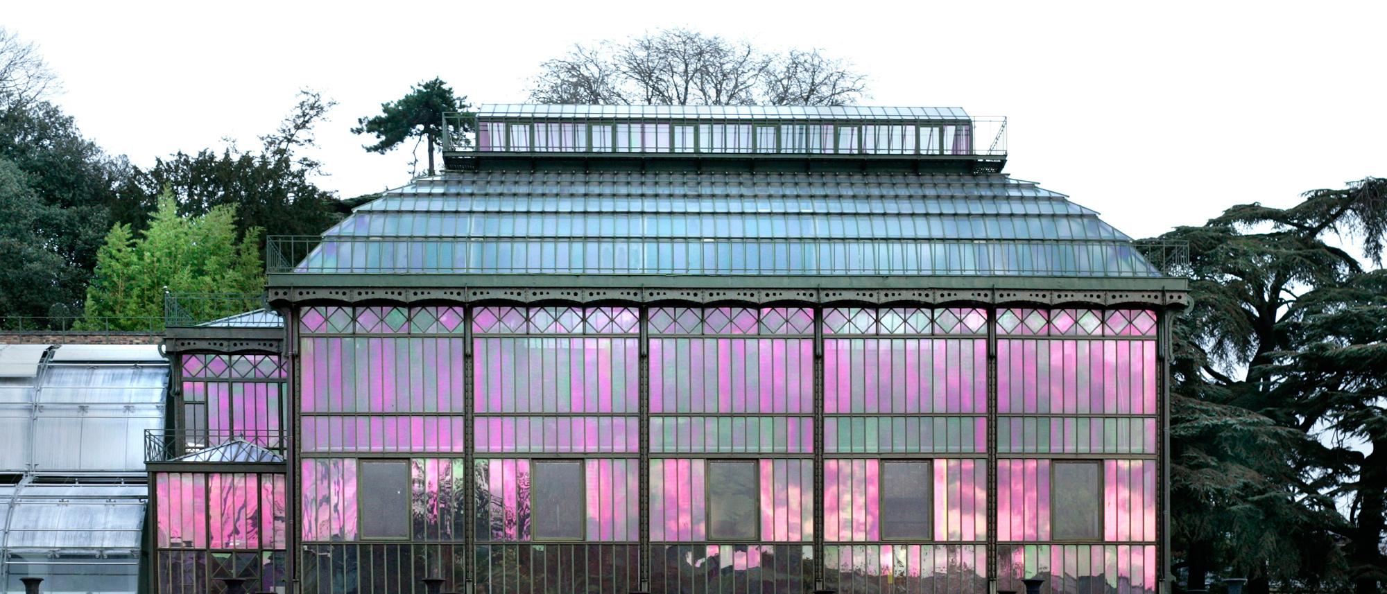 Grandes Serres Du Jardin Des Plantes (Greenhouses ... destiné Serre De Jardin Amazon