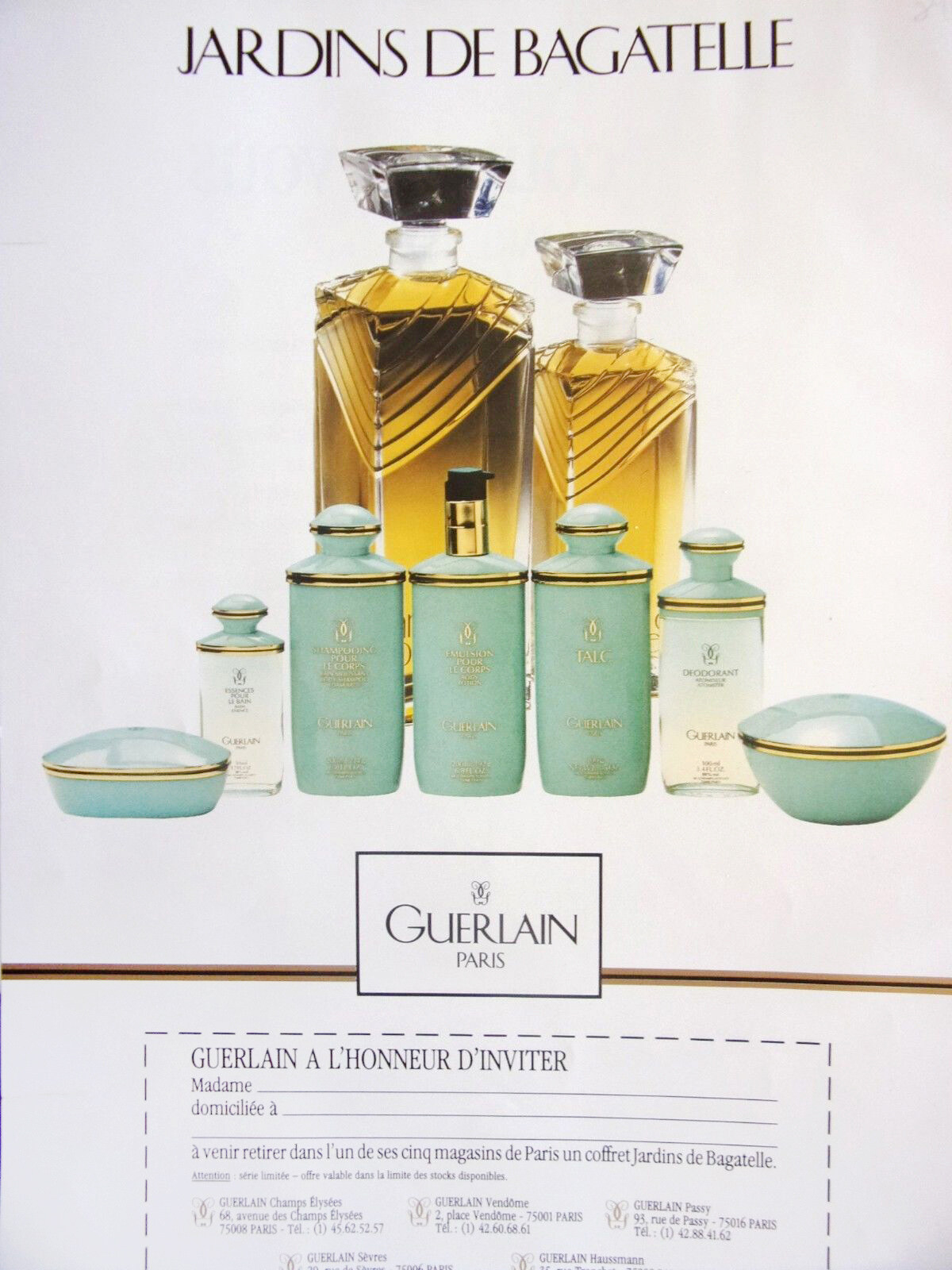 Guerlain - Jardins De Bagatelle Eau De Toilette | Reviews concernant Jardin De Bagatelle Guerlain