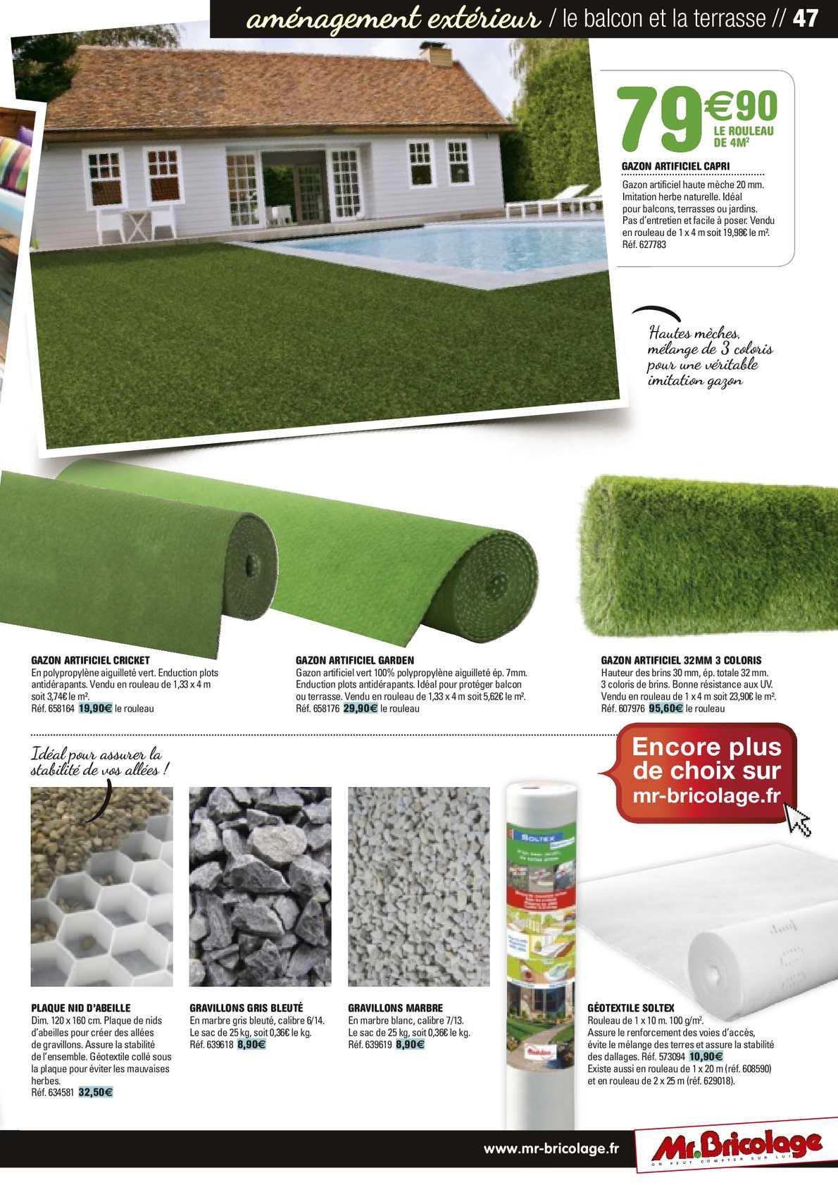 Guide Jardin 2014 Mr.bricolage - Calameo Downloader pour Geotextile Jardin
