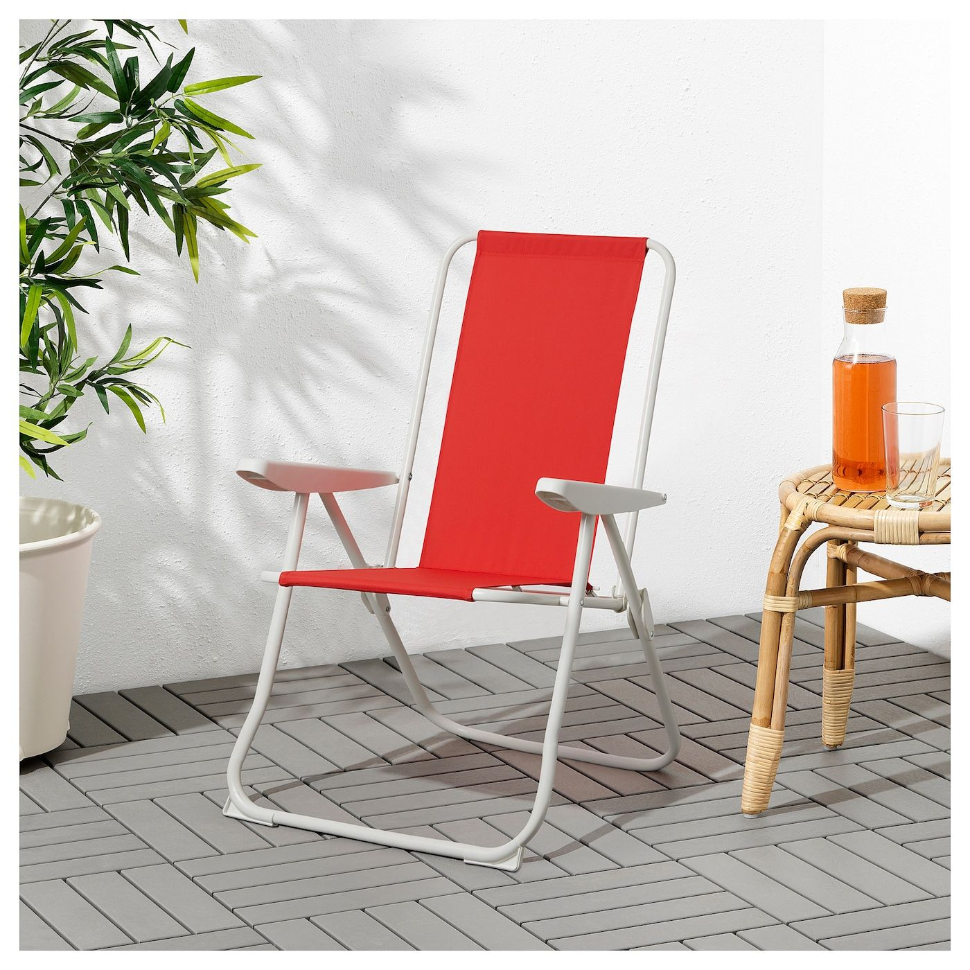 Håmö Reclining Chair - Red | Chaise Fauteuil, Fauteuil ... encequiconcerne Transat Jardin Ikea